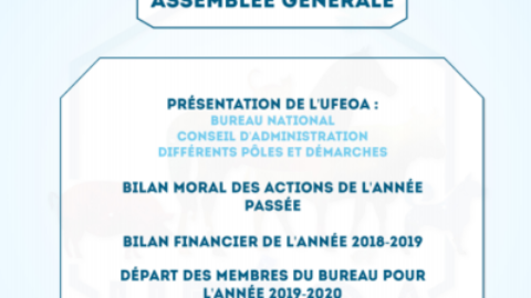 Assemblée Générale de l'UFEOA